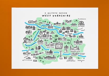Wandering around West Yorkshire (new map)