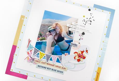 Summer Layout | Fancy Pants Designs