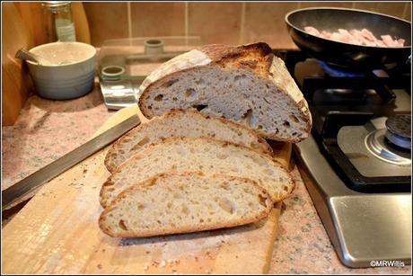 White Sourdough loaf recipe