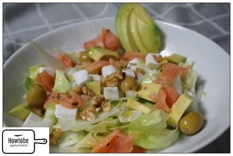 Salad Salmon Dan Alpukat