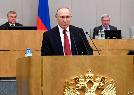 Russia's Constitutional Amendment and Foreign Policy