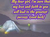 Inspirational Good Luck Quotes