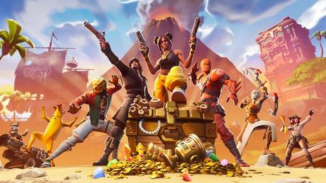 The video game Fortnite revels in silliness.