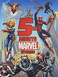 Image: 5-Minute Marvel Stories (5-Minute Stories) | Hardcover: 192 pages | by Marvel Press Book Group (Author), Brandon T. Snider (Author), Andy Schmidt (Author), Calliope Glass (Author), Marvel Press Artist (Illustrator). Publisher: Marvel Press (April 2, 2019)