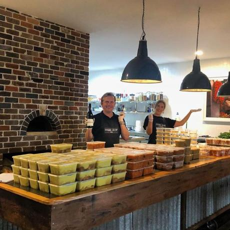 Drive-through gourmet feasts supporting local producers in the Hawkesbury