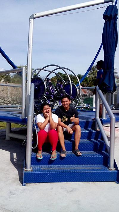 G-max Boracay (reverse bungee ride)