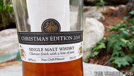 Paul John Christmas Edition 2018 Bottom Label
