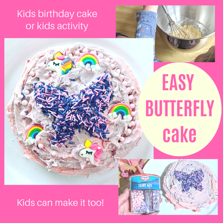 How to make an easy butterfly cake