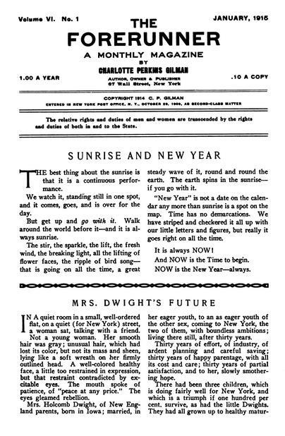 Herland (1915) by Charlotte Perkins Gilman