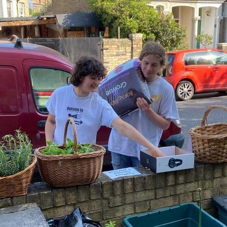 Over theGarden Fence Podcast no. 3 Compost in Veg Street