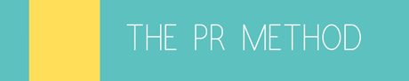 Introducing The PR Method