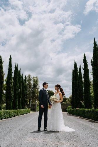 yarra valley elegant vineyard wedding beautiful groom and bride rick liston