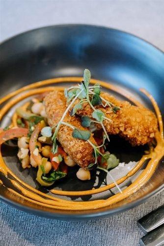 yarra valley elegant vineyard wedding food idea rick liston