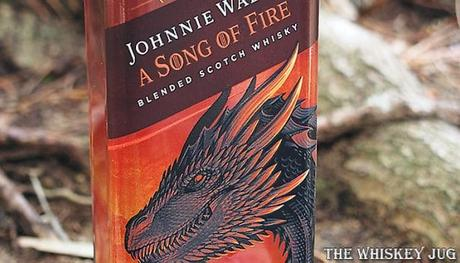 Johnnie Walker A Song of Fire Label