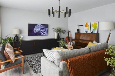 Bhavin Taylor living room design