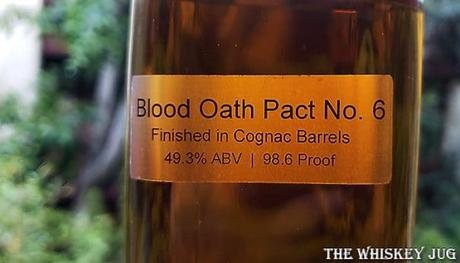Blood Oath Pact 6 Label