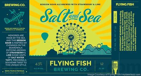Beer Review – Flying Fish Brewing Co. Salt and Sea