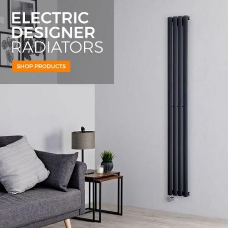electric designer radiator banner