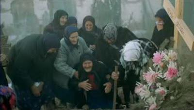 """252. Russian director Ilya Khrzhanovskiy's debut feature film """"Chetyre"""" (4) (2004), based on a script by post-modern author/dramatist Vladimir Sorokin:  A perplexing, absurdist, and depressing study of contemporary, post-glasnost Russia"""