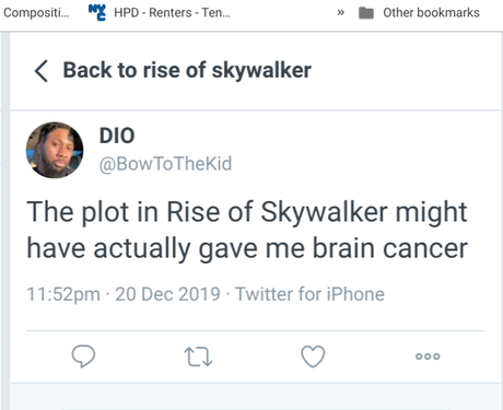 I'm Not Seeing The Rise of Skywalker and Neither Should You!