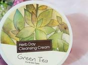 Face Shop Herb Cleansing Cream Review Green