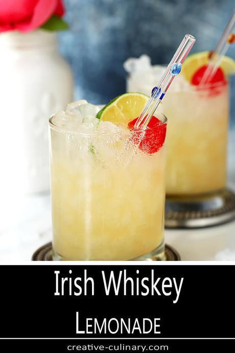 Irish Whiskey Lemonade Cocktail