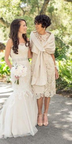 mother of the bride dresses knee length with cape lace spring carliestatsky