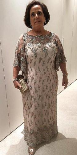 mother of the bride dresses long floor length beaded sequins paulo dolce
