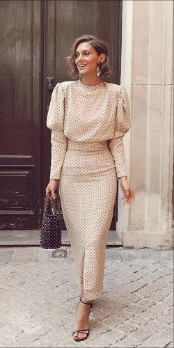 mother of the bride dresses tea length with long sleeves casual fall bridalala