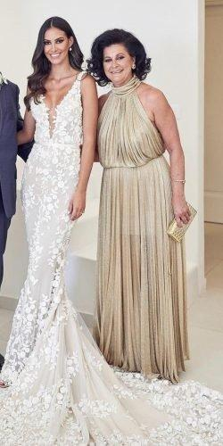 mother of the bride dresses long floor length halter neckline greek style lostinlove photography