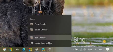 How to Enable Microsoft Edge PWAs App icons on Taskbar to Shortcut Menu