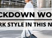 Post-Lockdown Work Style: Back Style This Normal