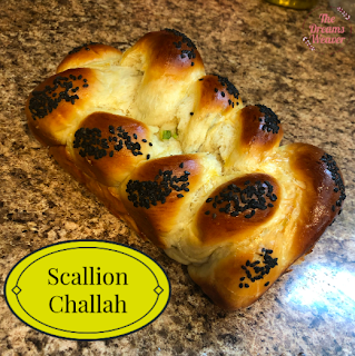 Scallion Challah ~ The Dreams Weaver