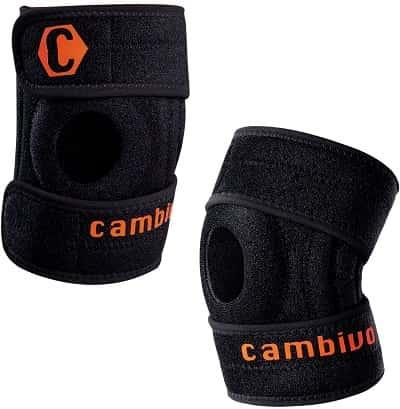 Best Adjustable Knee Sleeve - Cambivo Open Patella Support