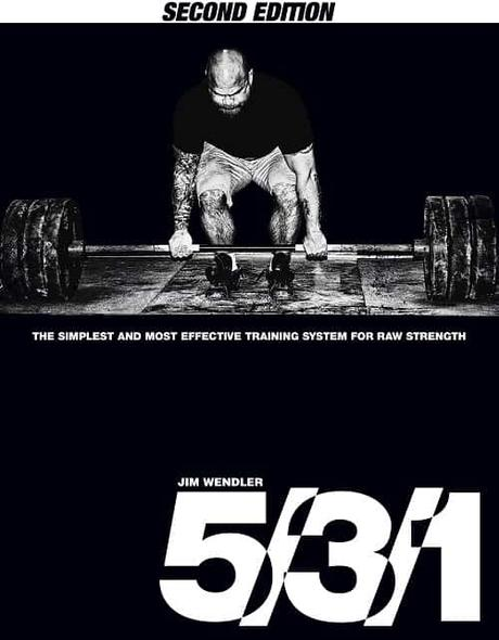 Best books for weightlifting - 5-3-1 Book by Jim Wendler