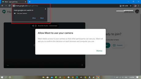 Fix – Google Meet Camera is not working in Video Meeting in Chrome