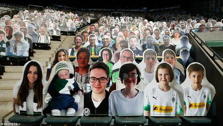 Gladbach's fans would stay at home, yet pay for their presence at Bundesliga 2020