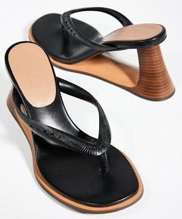 Shoe of the Day | Marni Wooden Heel Flip Flops