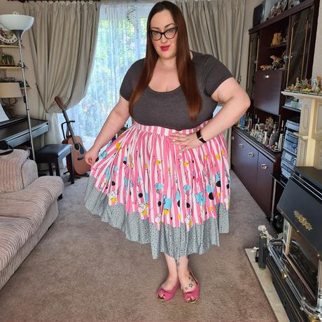 pin up girl clothing Mary Blair elephant print