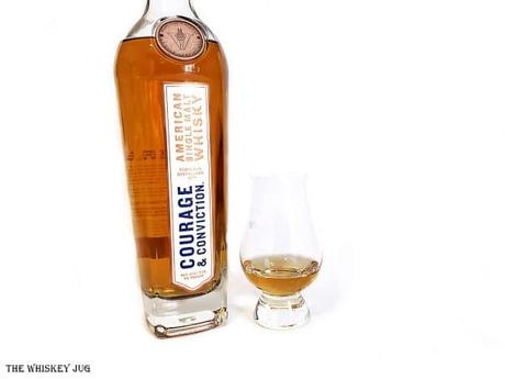 This is a tasty whiskey that sets a strong stake in the ground for the growing quality of American Single Malts. A massively exciting whiskey.