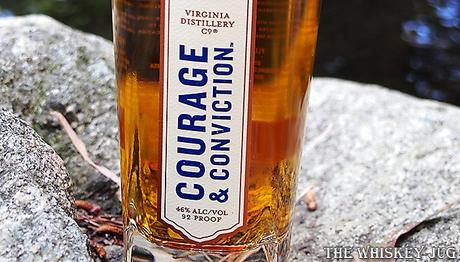 Virginia Distillery Courage and Conviction Single Malt Label