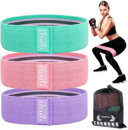 Coobans Resistance Bands for Legs and Glutes