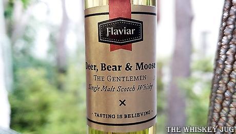 Deer, Bear and Moose The Gentlemen Scotch Label