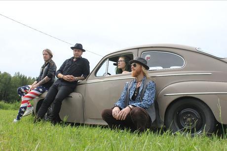 Progressive rock warlocks KINGNOMAD unveil details for new LP  'Sagan Om Rymden' on Ripple Music; stream first single