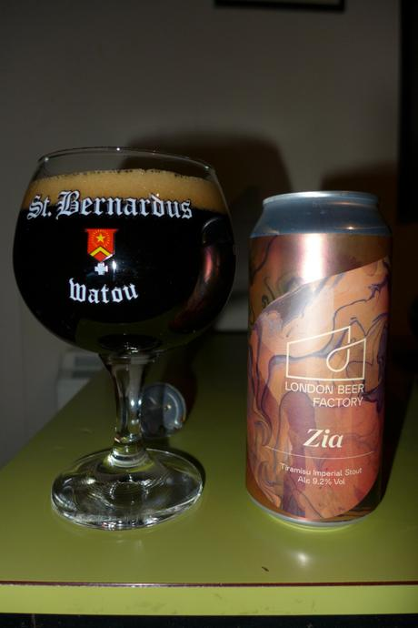 Tasting Notes: London Beer Factory: Zia Tiramisu Imperial Stout