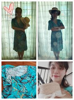 Nursing Dresses from Malaysia: 9 Months Maternity