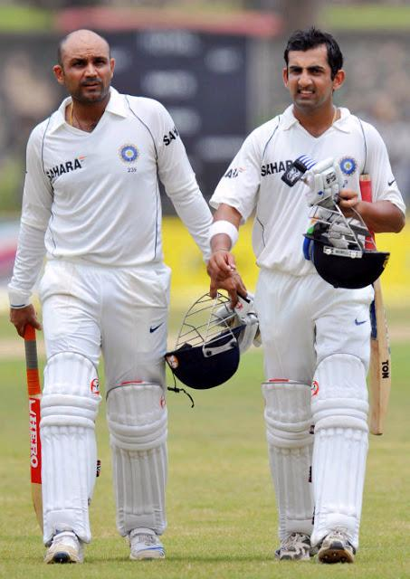 Gautam Gambhir hits back at Shahid Afridi - clean shot over mid wicket !