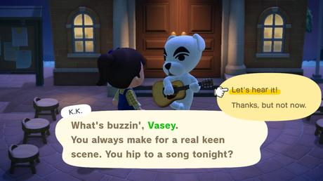 Animal Crossing New Horizons: A Quick K.K. Slider Concert