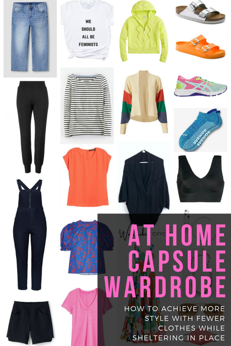 A Stay At Home Capsule Wardrobe