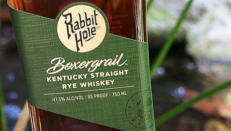Rabbithole Boxergrail Rye Whiskey Front Label